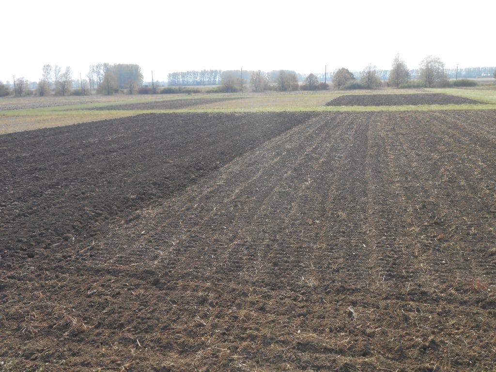 Pokusy s rôznymi variantmi obrábania pôdy.