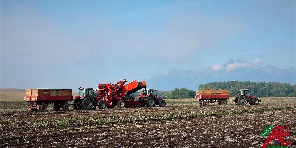 AT Tatry -  zber novej úrody
